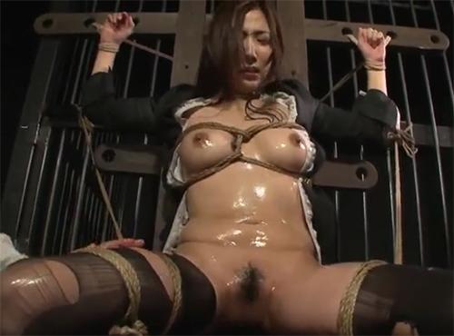 緊縛媚薬拷問でマゾヒズムが開発されていくpornonab.動画